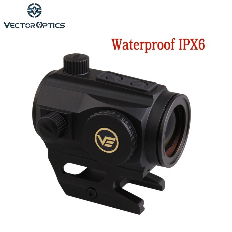 Vector Optics Scrapper 1x25 2MOA Dot Size IPX6 Water Proof Picatinny Mount Fit NV for AR