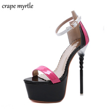 woman shoes for summer High Heel Sandals Ladies Shoes Sexy Party shoes Platform High Heels Sandals Shoes wedding Sandals YMA766