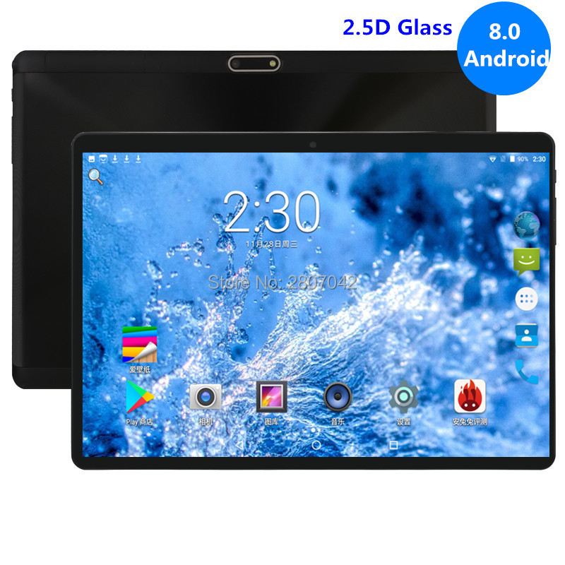 10 inch 3G 4G FDD LTE tablet PC Android 8 0 4GB RAM 64GB 1280x800 IPS