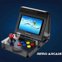 16GB Retro Handheld Gaming Device Mini Video Gamepad For CP1,CP2,NEOGEO,GBA,SFC,MD,GBC 4.3 Color Screen Christmas Gift