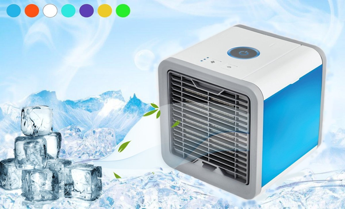 Newest Air Cooler Small Air Conditioning Appliances Mini Fans Air Cooling Fan Portable Conditioner Air Conditioner Covers