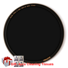 Zomei Optical Glass Slim Sliver Neutral Density Camera ND filter ND8/ND64/ND1000(3.0) Multi-coated 49/52/55/58/62/67/72/77/82mm