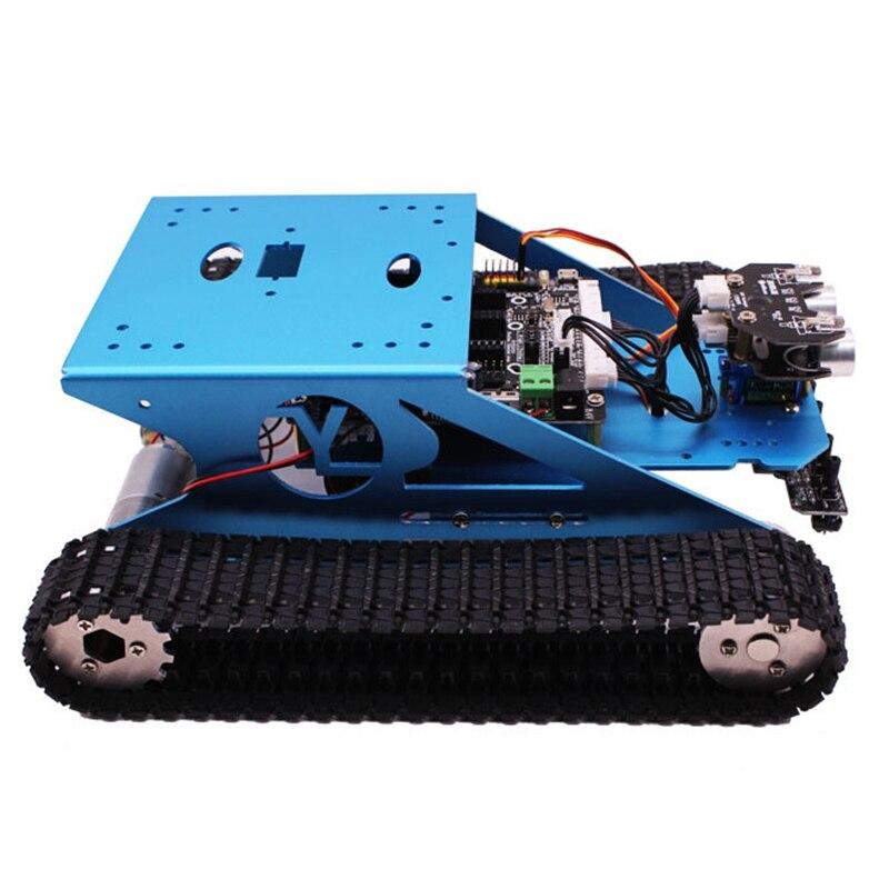 Kit Para Arduino Robot Car Tanque Chassis Tanque Robô Programável Inteligente Do Veículo, aprendizagem inteligente & Tronco Crianças Educacional Brinquedo Super - 5