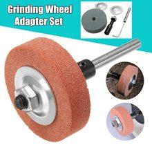 70x20x10mm 120 150 Grit Grinding Wheel Adapter Set di Utensili Abrasivi Trapano Elettrico Cambiare In rettifica Ruota Della Macchina Più