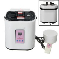 2L Sauna Steamer Pot Stainless Steel Home Steam Generator For Portable Home Steam Sauna Spa Loss Weight Skin Bath