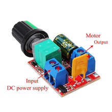 CLAITE DC 4.5V To DC 35V 5A 90W Mini DC Motor PWM Speed Controller Module Speed Regulator Adjustable Electr NEW(China)