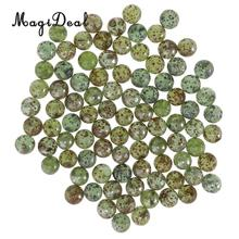Toys Game Marbles-Balls Glass Vintage Children Kids 90pcs Green 16mm for Fish-Tank-Decoration