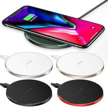 Wireless Charger Qi-5W 7.5W 10W Wireless Charging Compatible for iPhone Xs MAX/XR/XS/X/8/8 Plus 5W All Qi-Enabled Phones(China)