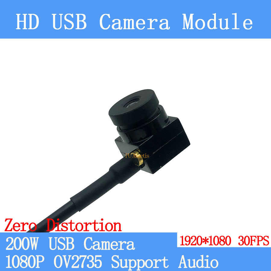 Zero distortion 90degrees Surveillance camera 1080P Full Hd MJPEG 30FPS High Speed Mini CCTV Linux UVC Android USB Camera Module