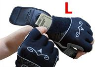 New Bike Mirror Gloves Half Finger Biking Gel Pad Wrist Back Mirror for Bicycle Cycling Gloves With Rearview Mirrow S XL