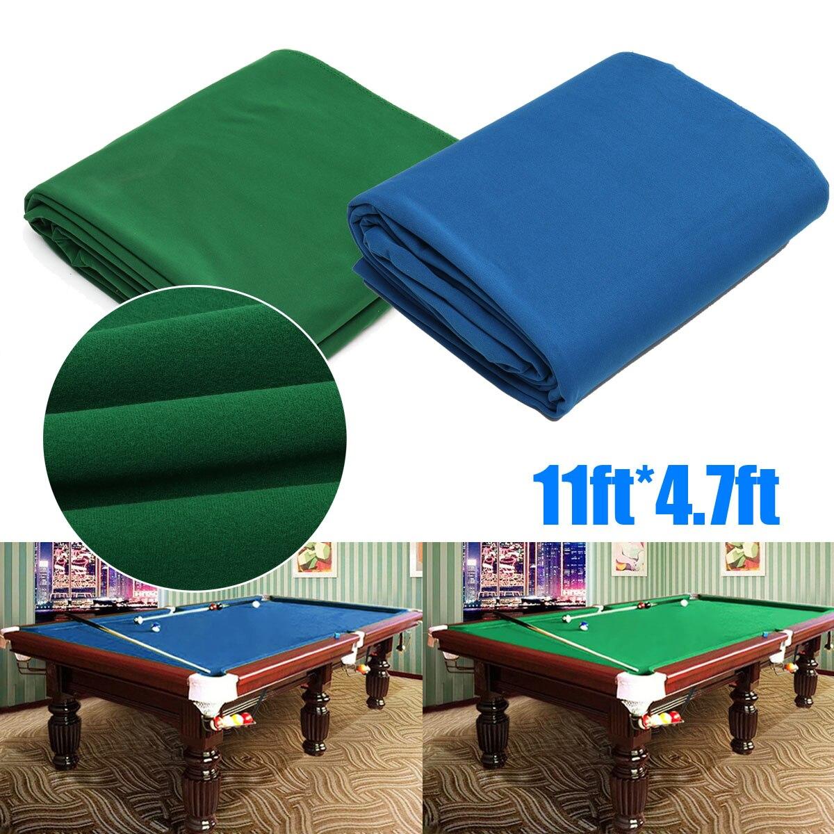 Verde/Blu Snooker Biliardo Piscina Panno Otto Palla Da Biliardo ...