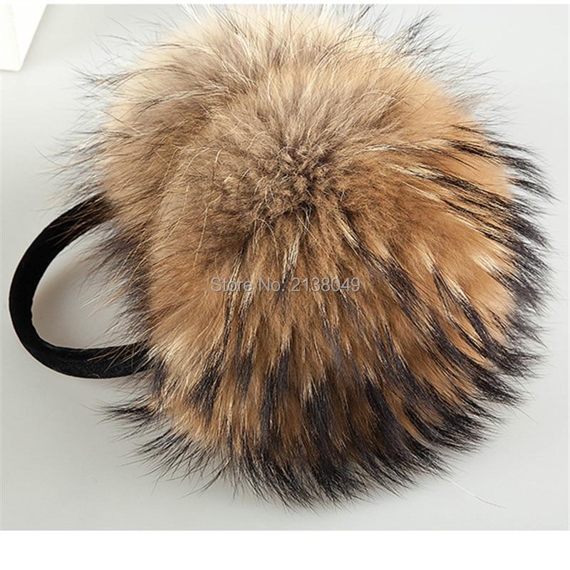 Apparel Accessories Energetic Sf0322 Winter Women Warm Real Fox Earmuffs Girls Real Fox Fur Earlap Ladies Plush Real Fur Ear Muff