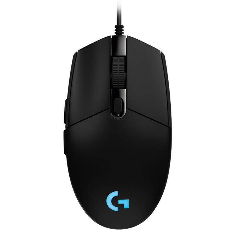 Logitech Wired Mouse Programmable Mechanical-Buttons Macro Overwatch/lol-Games RGB 8000DPI