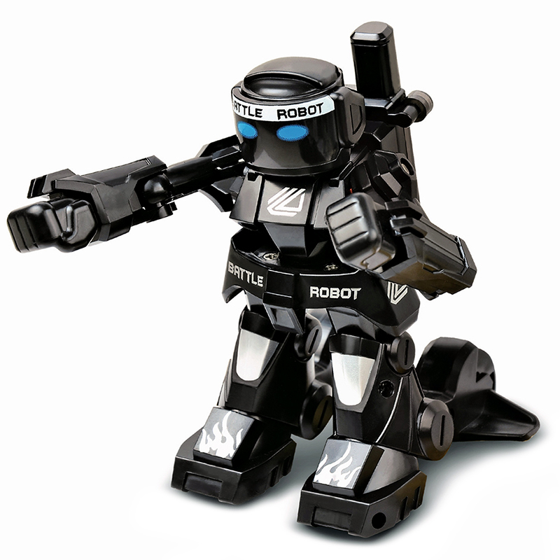 777-615 Battle RC Robot Simulation Sound And Light Body Sense Remote Control Toys Flexible Boxing An
