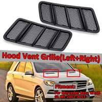 Car Front Hood Vent Grille Air Flow Intake Hood For Mercedes For Benz W166 GL GL350 GL450 GL550 ML ML350 ML550 2012 2015