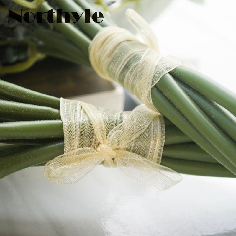 Northyle FS128658 Kunstmatige lavendel bloem bruidsboeket decoratie - Feestversiering en feestartikelen - Foto 5