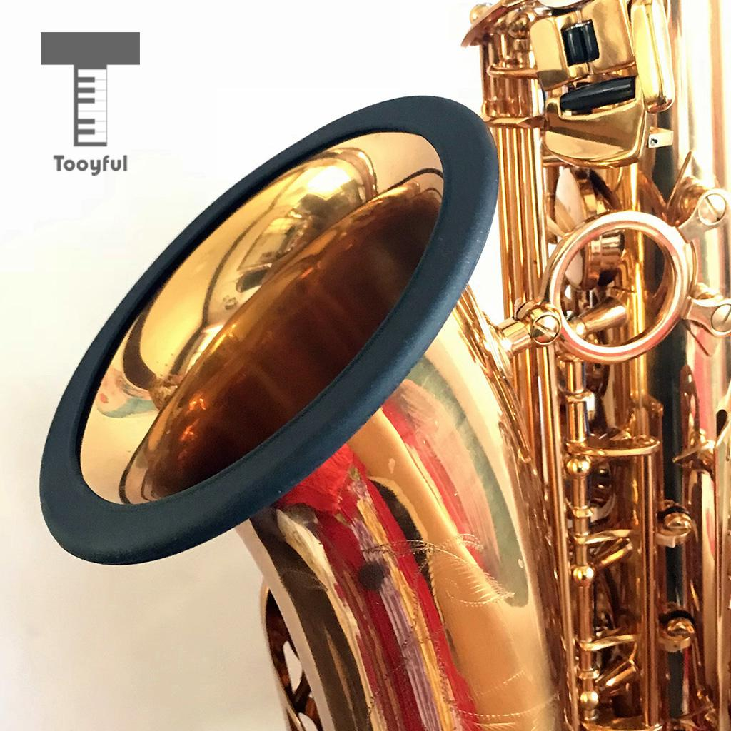Saxophone Ring Mute Silicone Bell Protector Protective Ring For Tenor Sax Accessory