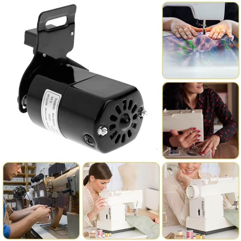 Durable Domestic Household Sewing Machine AC 220V 0.5A 100W Electric Motor 7000RPM Controller Sewing Machine Electric Motor