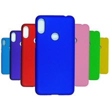 Phone Case on For Fundas Motorola moto One Case For Coque Motorola moto One Cover Candy Color Hard plastic PC Phone Cases sfor phone case motorola one case luxury rubber phone case for motorola p30 play cover for moto one motorola one xt1941 fundas