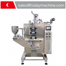 VFFS Roller pressing type viscous liquid filling sachet packaging machine