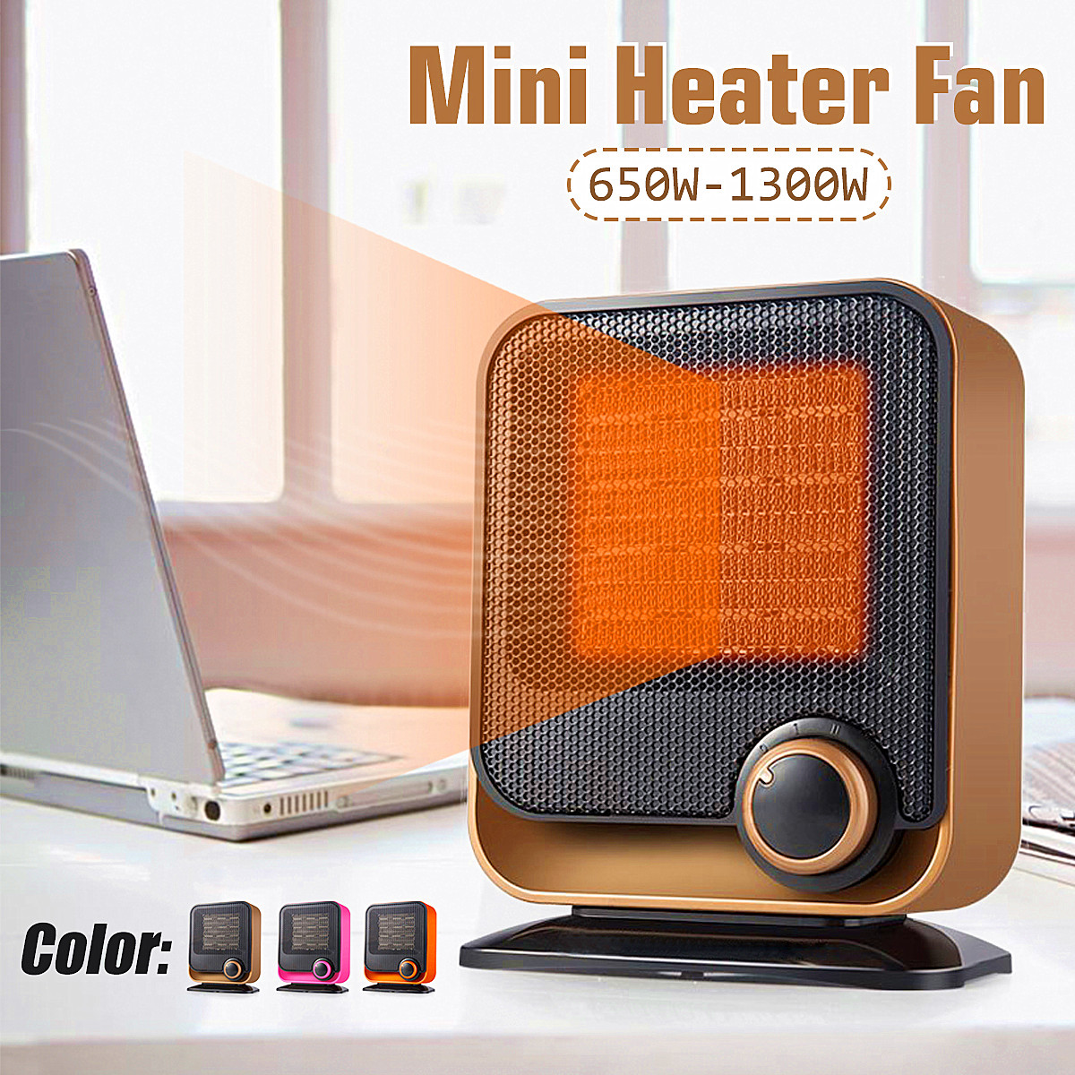 Household Office Mini Heater Energy Saving Bathroom Over Temperature Protect Energy-saving Electric Heater Silent Roasting Stove heater heater electric apparatus mini household energy saving fan use the bathroom