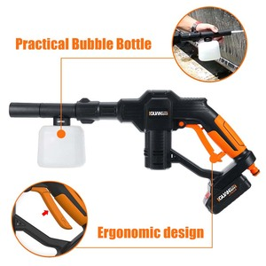 Image 5 - Portable 12V Car Washer Guns Cordless Pressure Cleaner Rechargable Car Care Washing Machine Electric Cleaning Device Home Garden