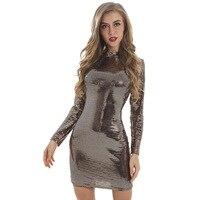 MUXU vestidos bodycon sequin short dress kleider fashion sukienka woman clothes streetwear frocks long sleeve dress glitter