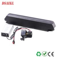 Free shipping Dorado 500W ebike battery 36V 10.4Ah 11.6Ah 13Ah 14Ah 15Ah 16Ah 17.5Ah 19Ah 20Ah 21Ah batteries with 42V charger