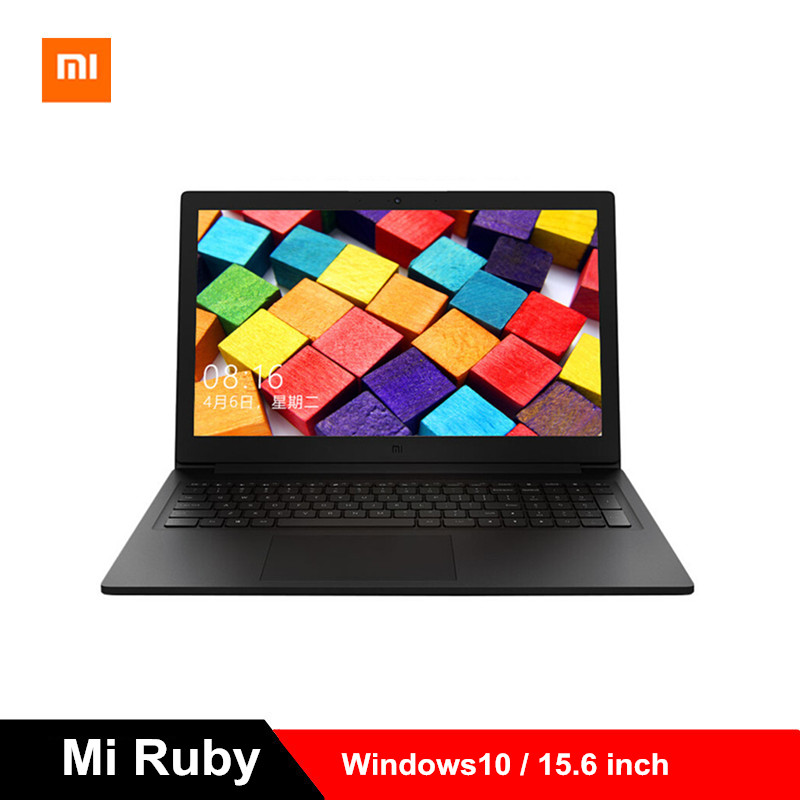2019 Xiao mi mi Ruby 15.6 pouces ordinateur portable Windows10 i5-8250U Quad Core ordinateur portable 8 GB RAM 512 GB SSD 1.6 GHz GeForce MX110 PC
