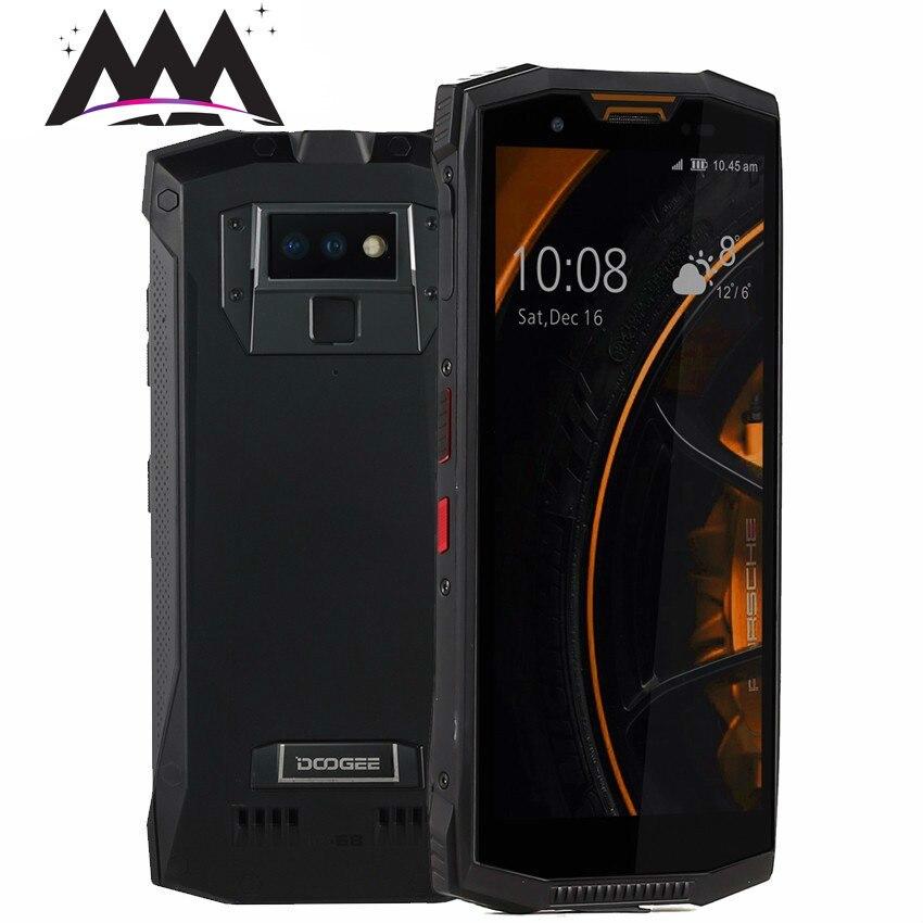 DOOGEE S80 Android 8.1 talkie-walkie 6 GB + 64 GB Helio P23 Octa Core NFC sans fil Charge IP68 étanche antichoc 4G téléphone portable