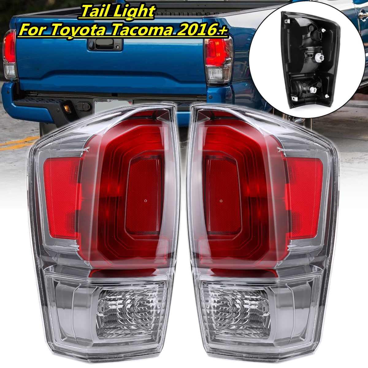 1PCS 12V Rear Tail Light Brake Lamp Red Tail Light Lamp For Toyota Tacoma Pickup 2016 2017 2018 2019 L 81560 04190,R 81550 04190