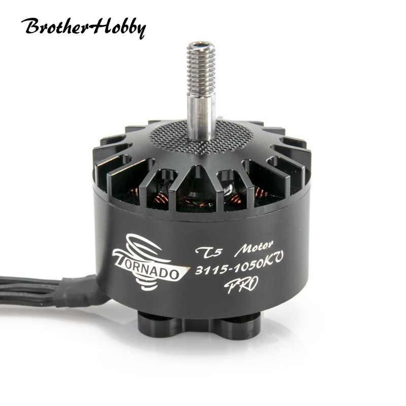 Moteur sans brosse de fil de la tornade T5 Pro 3115 640/900/1050/1200KV 5-6 S CW de puissance élevée pour le moteur de quadrirotor de Drone de RC