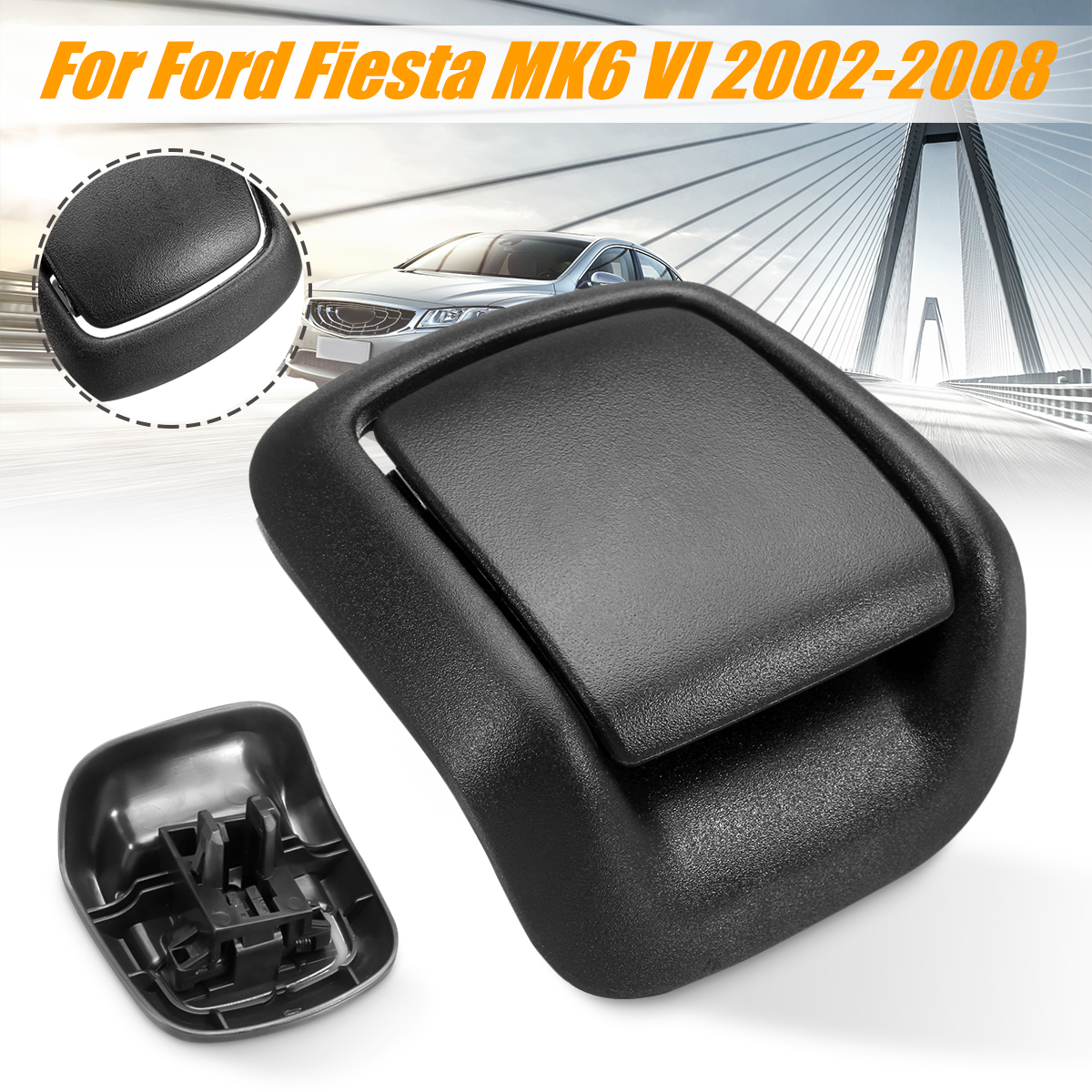 High Quality Front Left / Right Hand Seat Tilt Handle Seat Adjuster Handle 1417521 For Ford For Fiesta MK6 VI 3 Door 2002-2008