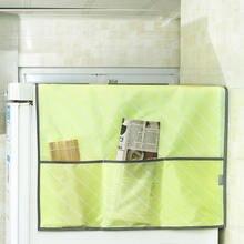 Водонепроницаемый Пылезащитный чехол s пылезащитный чехол для холодильника с мешки для хранения для мытья на кружках кружечный Печатный Кухня расходные материалы