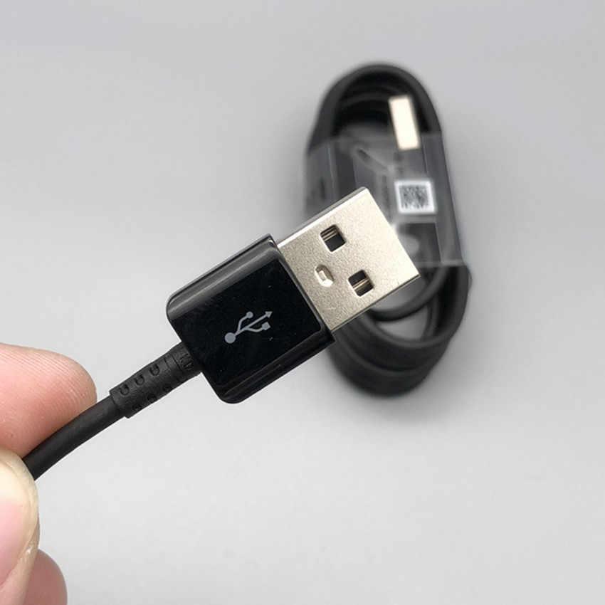 1000 шт./лот 1:1 оригинальный Тип usb C кабель для быстрой зарядки и передачи данных кабель быстрой Зарядное устройство 1,2 м 2A для samsung S8 s9 note 7 S10
