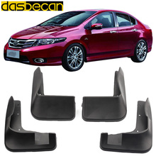 Dasbecan Car Mudguards CITY 2008 2013 2008-2013 For Honda Fender Accessories Splash Guard  Paneling 2009 2010