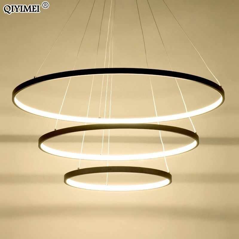 Черно-белая рамка светодиодные подвесные светильники для кухни столовой современные подвесные лампы abajour освещение блеск для помещений