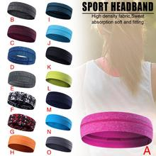 New Hair Band For Men And Women Sports Sweat Breathable Absorption Head Running Yoga Moisture