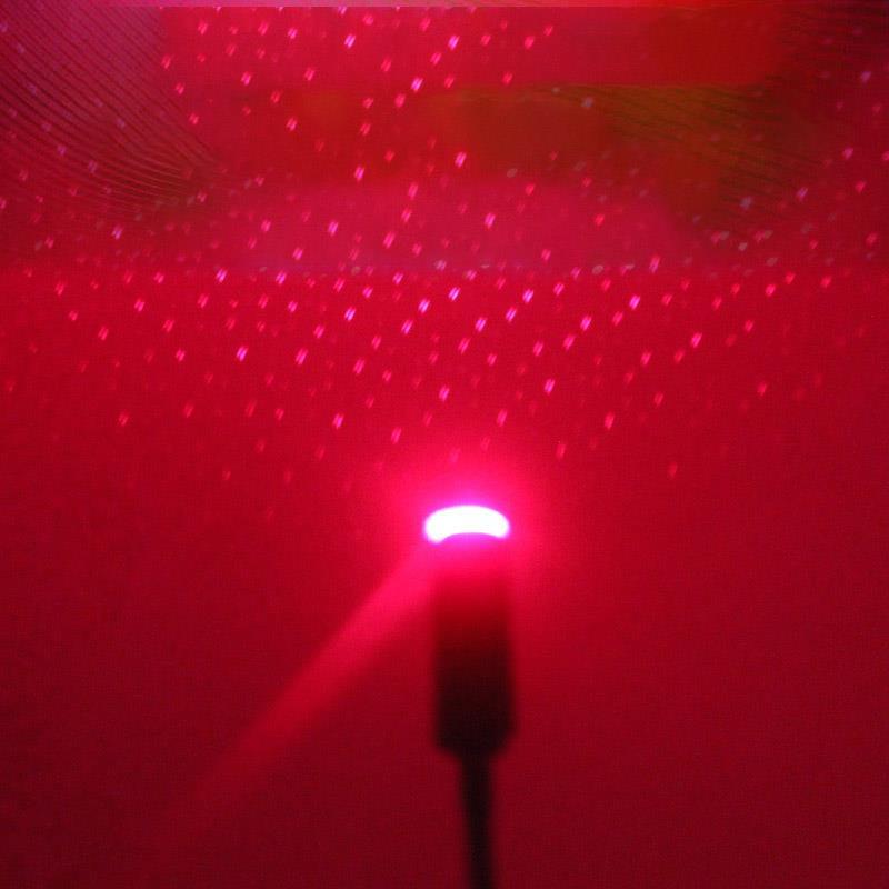 Onever мини-светодиод машины крыша Звезда Ночной Светильник s проектор светильник Интерьер окружающей среды Галактическая лампа декоративный светильник USB штекер