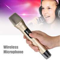 Wireless Microphone USB FM Karaoke Handheld Microphone KTV Player PC Mic Speaker Professional