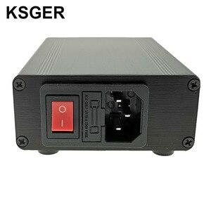 Image 5 - Ksger estação de solda, t12 stm32 v2.1s estação de solda de ferro de solda oled ferramentas de solda t12 caixa de liga de alumínio fx9501 cabo de calor rápido