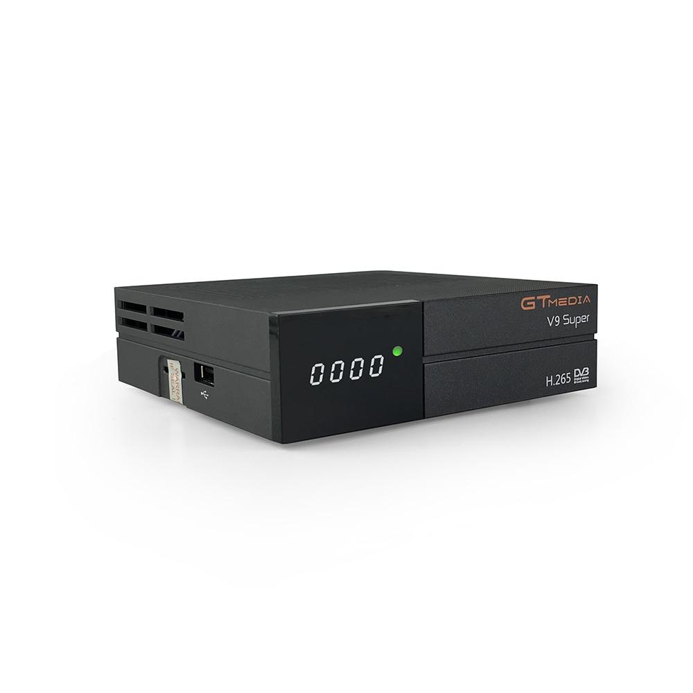 GTMEDIA V9 Super Satellite TV Receiver DVB-S2 FULL HD 1080P Support PowerVu DRE &Biss key DLNA Receptor PK Freesat V8 SuperGTMEDIA V9 Super Satellite TV Receiver DVB-S2 FULL HD 1080P Support PowerVu DRE &Biss key DLNA Receptor PK Freesat V8 Super