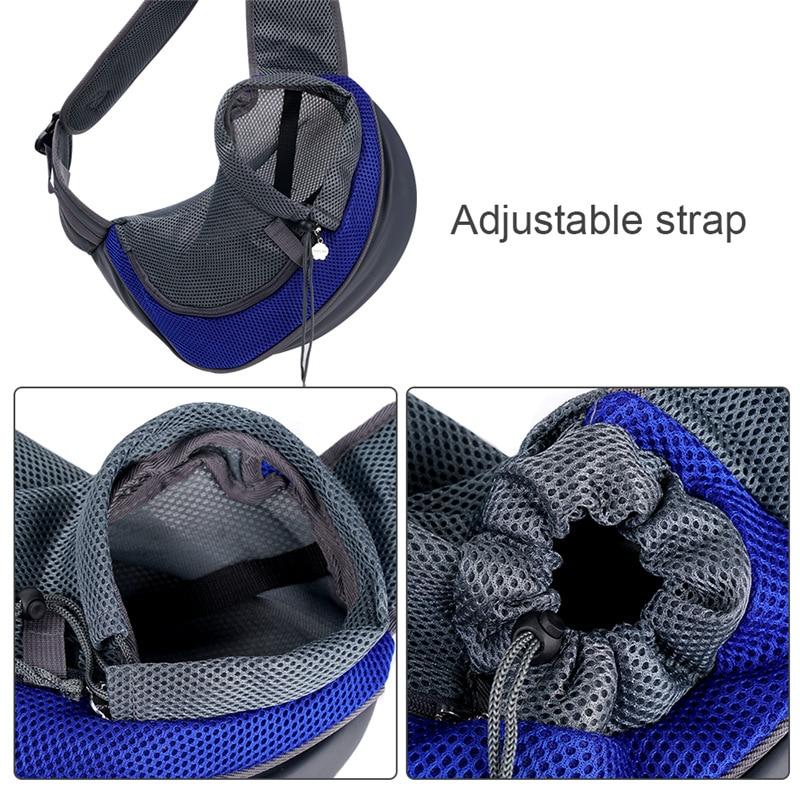 Carrier For Cat Pet Dog Sling Backpack Bag Breathable Travel Transport Carrying Bag for Kitten Puppy
