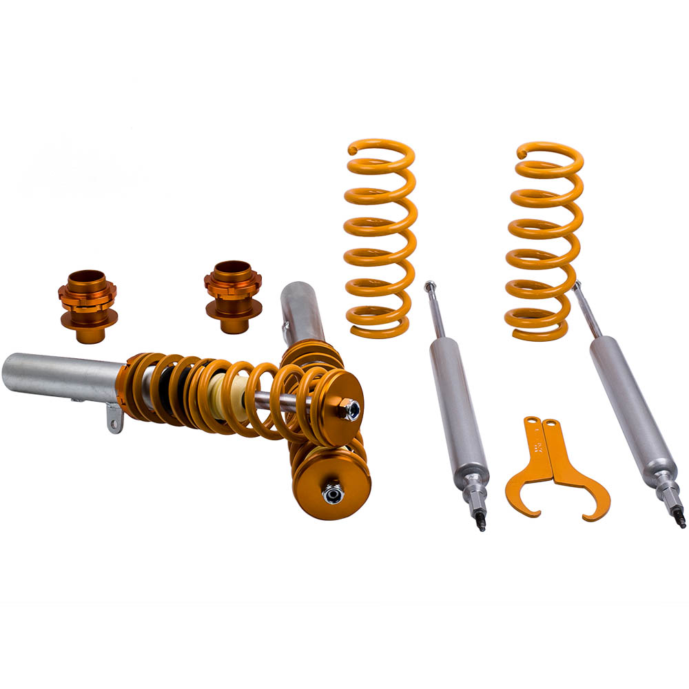 For BMW E91 E92 E93 3 series Coilovers Kit Adjustable Height Suspension Lowering Coil Springs over Strut Shock absorber