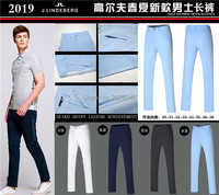 Men Golf Pants Sports Trousers Autumn all match Korean Slim Long Pants Spring Golf Clothing 4 Colors Men Brand Pants
