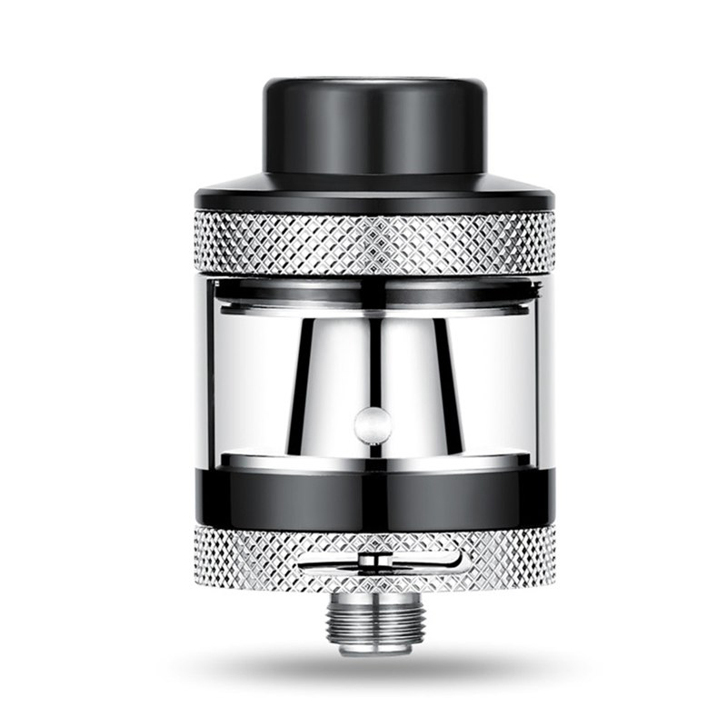 Mini RTA 30-100W Tank 3ml Capacity Build Deck Dual Adjustable Airflow Universal 510 thread e-Cigarette Atomizer
