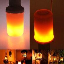 Светодиодный светильник с эффектом пламени, лампа для дома, гостиной, g-сенсор, E27, модная лампа для кукурузы, креативная Рождественская лампа