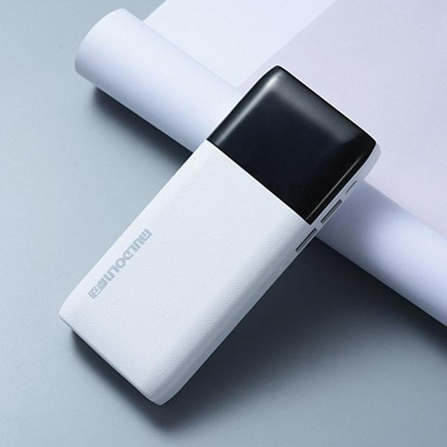 Ultra-thin Portable Power Bank 20000 Mah 2.1A Emergency Power mah USB Data Cable General Charger