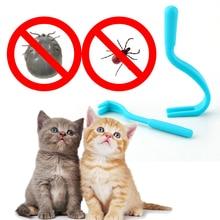 Dog Cat Pet-Comb Flea Tick-Remover Grooming-Tool Pet-Supplies Scratching Tweezers Crowbar-Shape