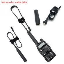 CS Tactical Antenna SMA-Female Dual Band VHF UHF Foldable For Walkie Talkie Baofeng UV-5R UV-82 UV5R Tactical Gear #1102 al 800 sma k vhf uhf detachable antenna for walkie talkie black